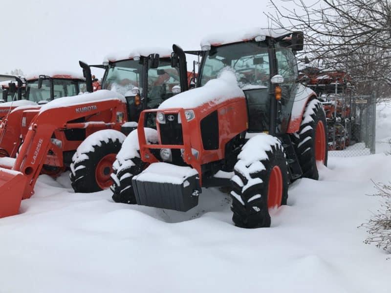 Sunset Kubota Heber Snow Yard